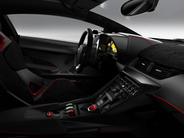 Lamborghini Veneno interiér