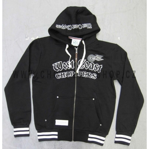 west-coast-choppers-mikina-s-kapuci-na-zip-gangscript-zip-hooded-sweater-black